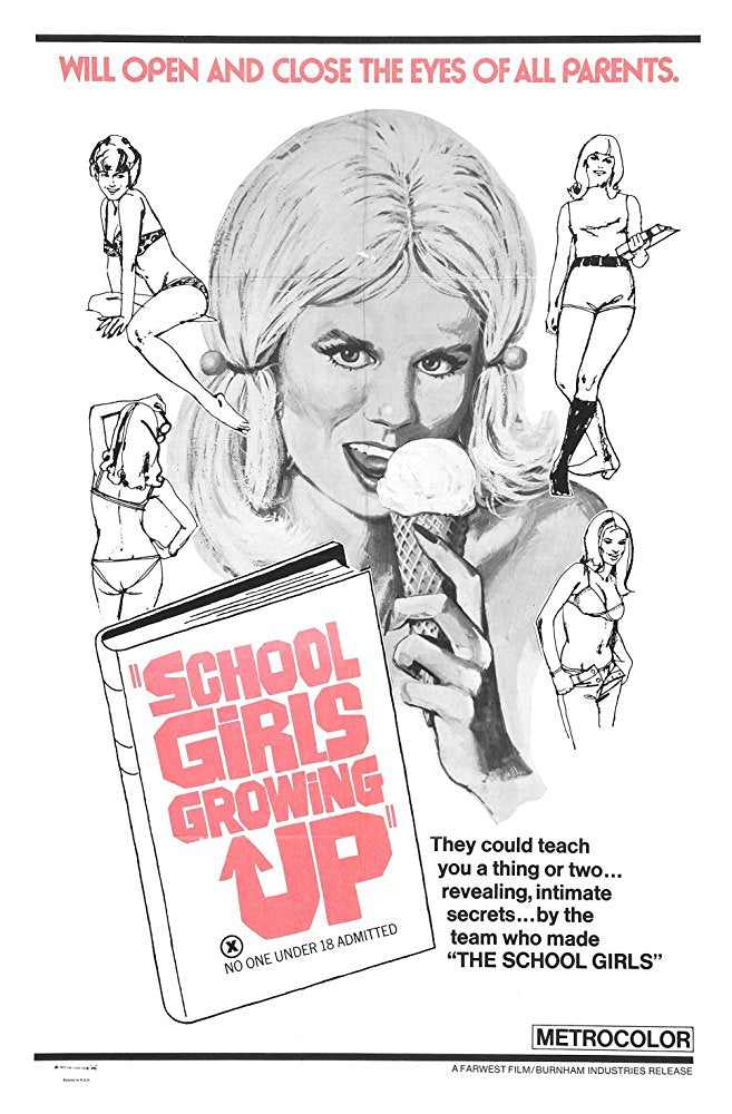 Schoolgirl Report Part 3 : What Parents Find Unthinkable (1972)  DVD