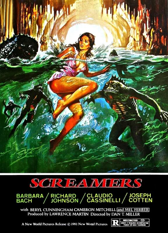 Screamers (1979) - Barbara Bach  DVD