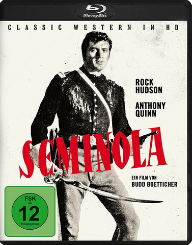 Seminole (1953) - Rock Hudson  Blu-ray