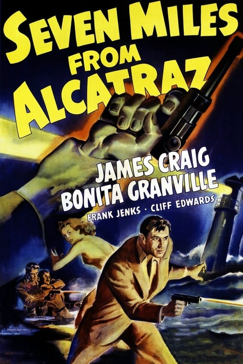 Seven Miles From Alcatraz (1942) - James Craig  DVD
