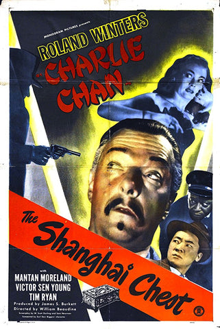 Charlie Chan : The Shanghai Chest (1948) - Roland Winters  DVD
