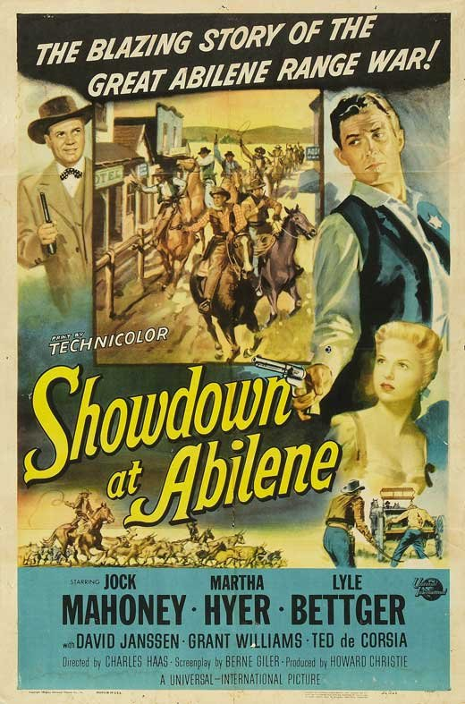 Showdown At Abilene (1956) - Jock Mahoney  DVD