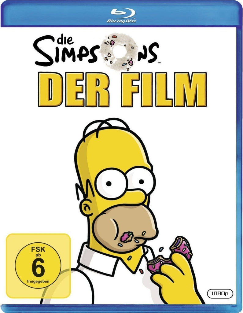 The Simpsons Movie (2007)  Blu-ray