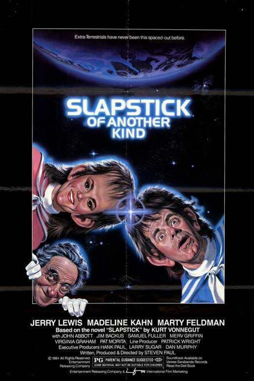 Slapstick Of Another Kind (1982) - Jerry Lewis  DVD