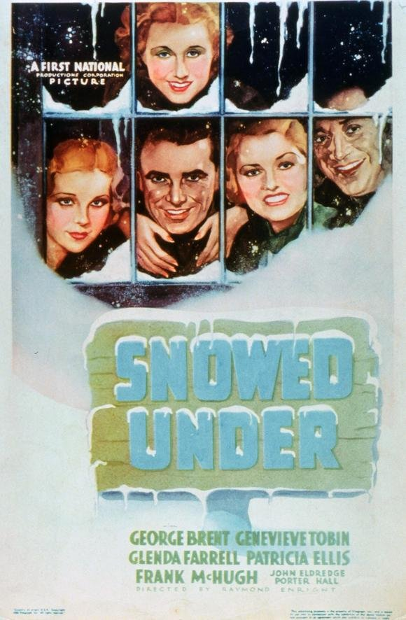 Snowed Under (1936) - George Brent  DVD