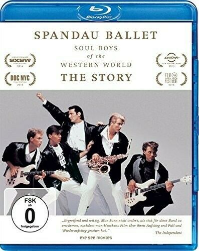 Spandau Ballet - Soul Boys of the Western World : The Story (2014)  Blu-ray