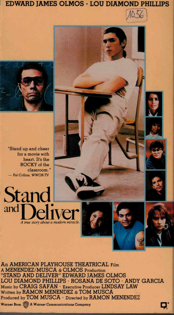 Stand And Deliver (1987) - Lou Diamond Phillips  VHS
