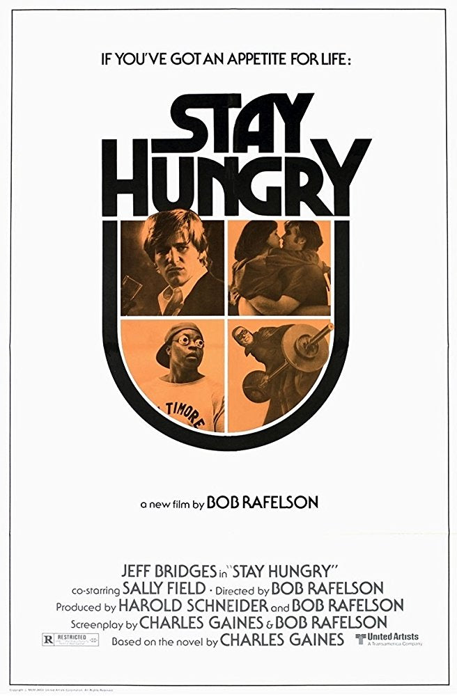 Stay Hungry (1976) - Jeff Bridges  DVD