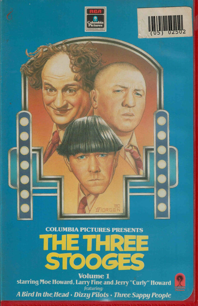 The Three Stooges : Vol. 1  VHS (PAL)