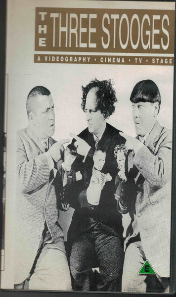 The Three Stooges : Videography  VHS (PAL)