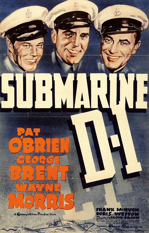Submarine D-1 (1937) - Pat O´Brien  DVD