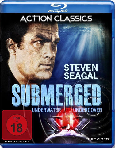 Submerged (2005) - Steven Seagal  Blu-ray