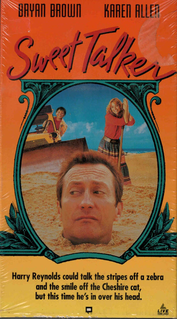 Sweet Talker (1992) - Bryan Brown  VHS