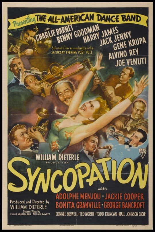Syncopation (1942) - Adolphe Menjou  DVD