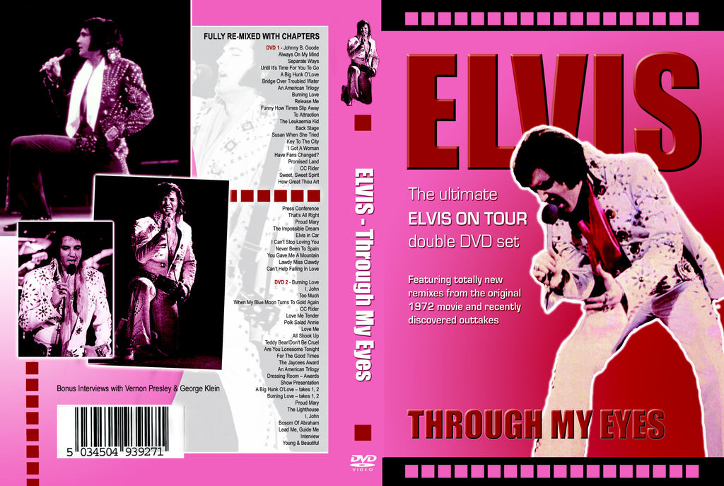 Elvis - Through My Eyes - 2 DVD Set