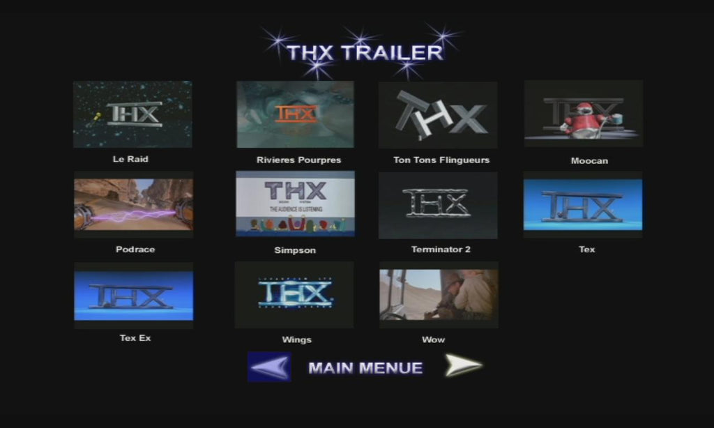 HD or 3D Movie Trailers with AC3 or PCM / FLAC / DTS-HD MA Audio