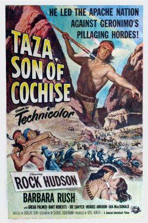 Taza, Son Of Cochise (1954) - Rock Hudson  DVD