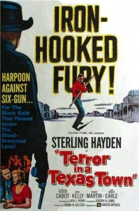 Terror In A Texas Town (1958) - Sterling Hayden  DVD