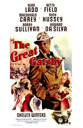 The Great Gatsby (1949) - Alan Ladd  DVD