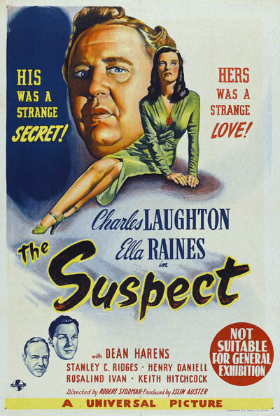 The Suspect (1944) - Charles Laughton  DVD