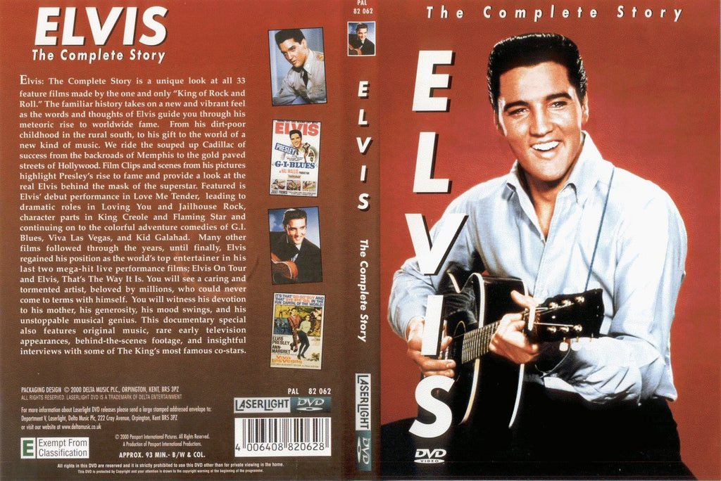 Elvis : The Complete Story  DVD