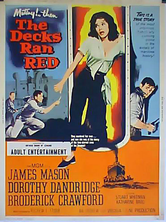The Decks Ran Red (1958) - James Mason  DVD