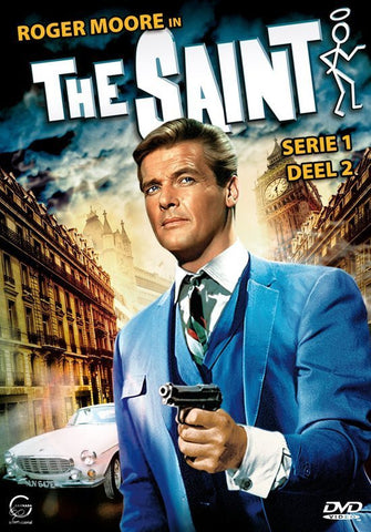 The Saint : Complete Season 1 & 2 - Roger Moore (7 DVD Set)