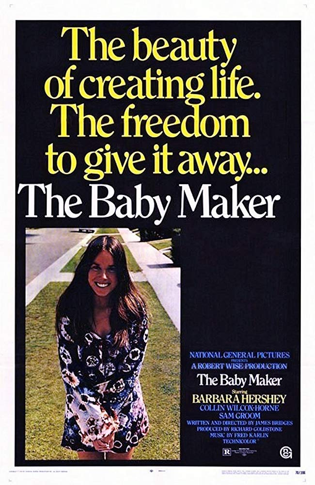 The Baby Maker (1970) - Barbara Hershey  DVD