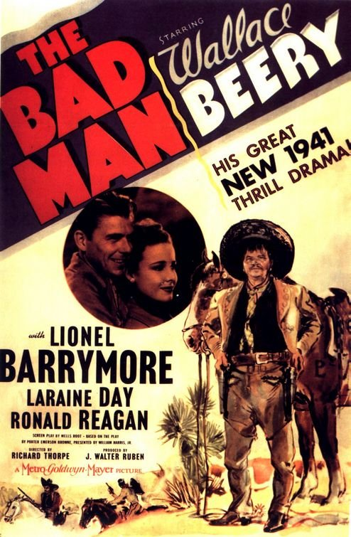 The Bad Man (1941) - Wallace Beery  DVD