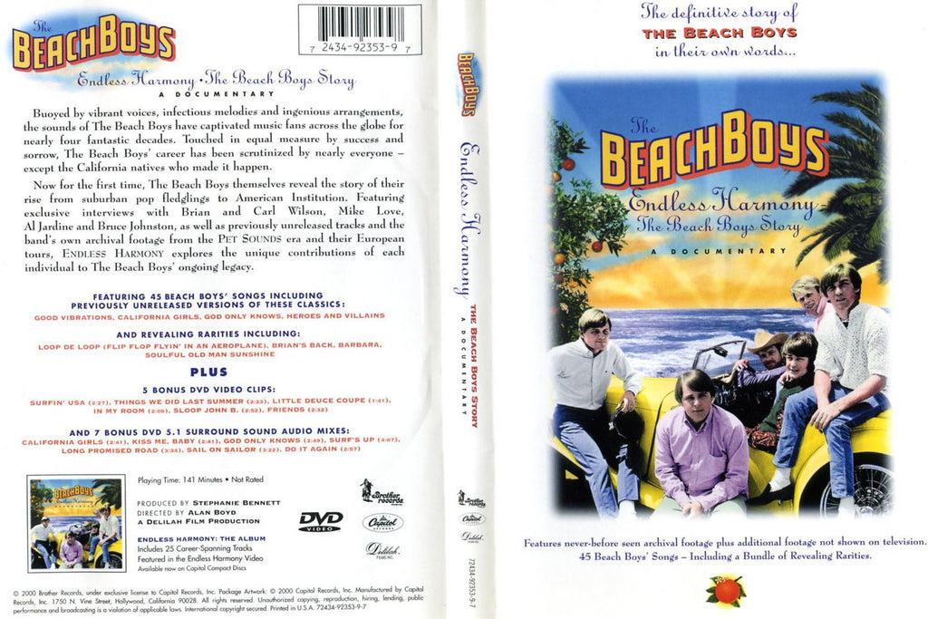 Beach Boys : Endless Harmony - The Beach Boys Story (2000)  DVD
