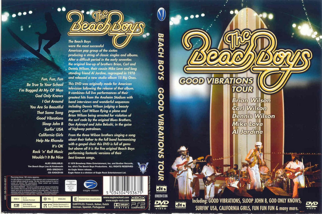 Beach Boys - Good Vibrations Tour  DVD
