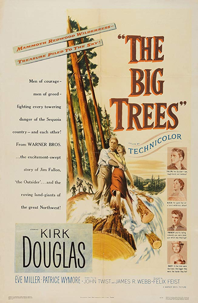 The Big Trees (1952) - Kirk Douglas  DVD