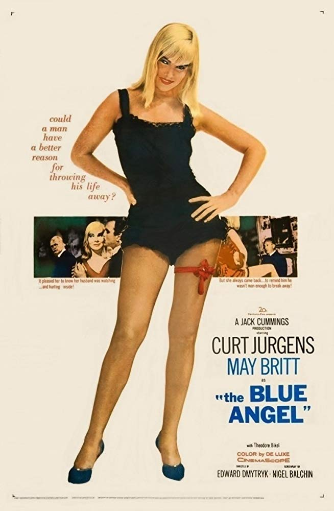 The Blue Angel (1959) - Curd Jürgens  DVD