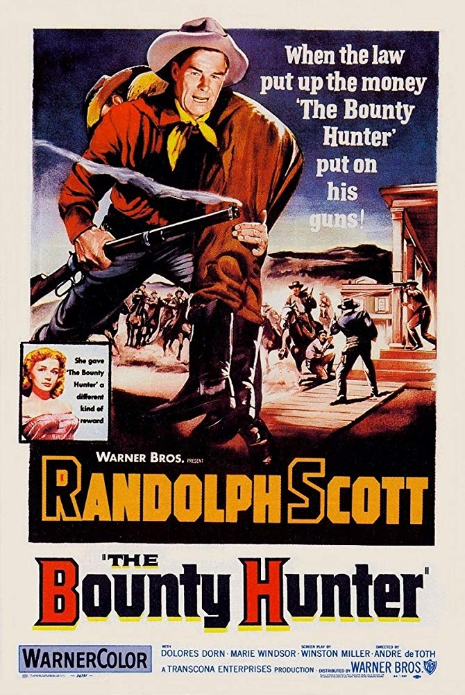 The Bounty Hunter (1954) - Randolph Scott  DVD
