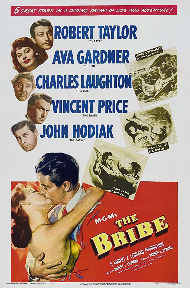 The Bribe (1949) - Robert Taylor  DVD