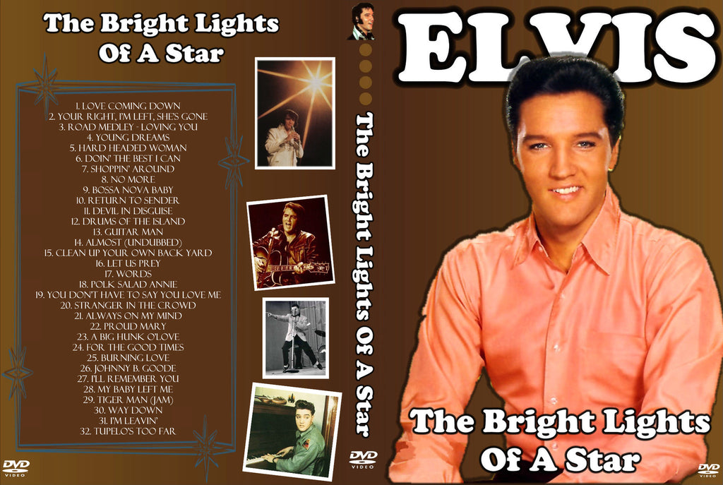 Elvis - Bright Lights Of A Star DVD