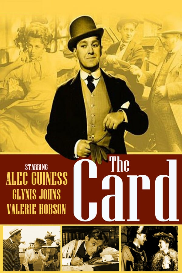 The Card AKA The Promoter (1952) - Alec Guinness  DVD