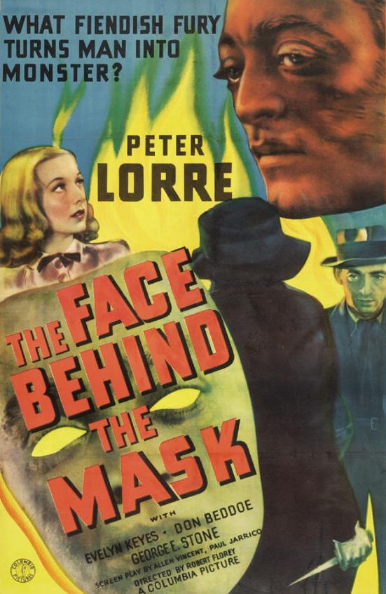 The Face Behind The Mask (1941) - Peter Lorre  DVD