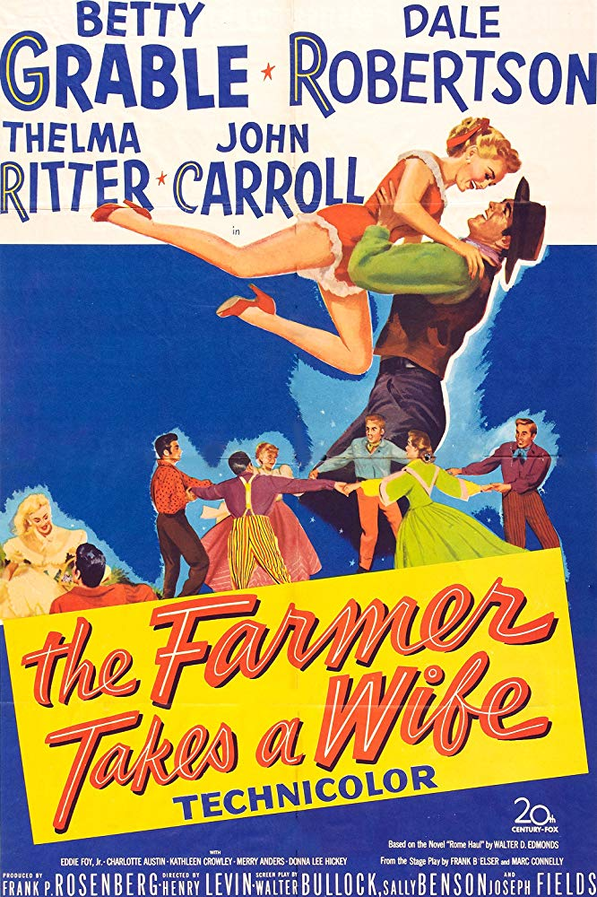 The Farmer Takes A Wife (1953) - Betty Grable  DVD