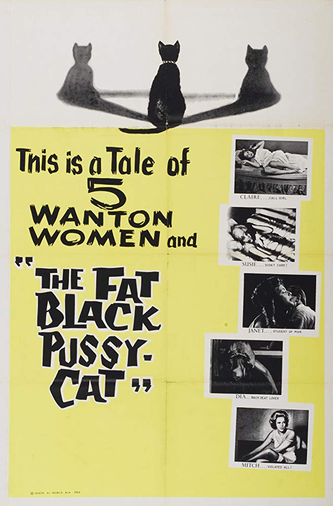 The Fat Black Pussycat (1963) - Frank Jamus  DVD