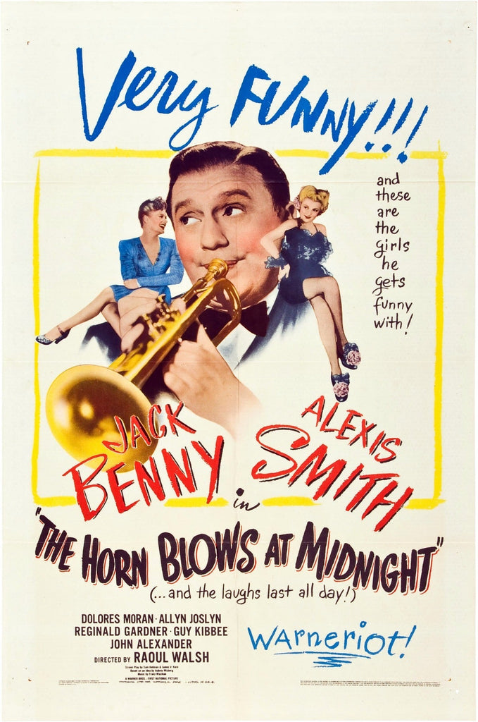 The Horn Blows At Midnight (1945) - Jack Benny DVD