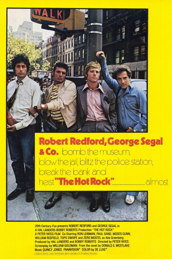 The Hot Rock (1972) - Robert Redford  DVD