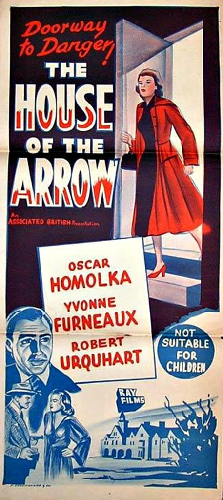 The House Of The Arrow (1953) - Oskar Homolka  DVD