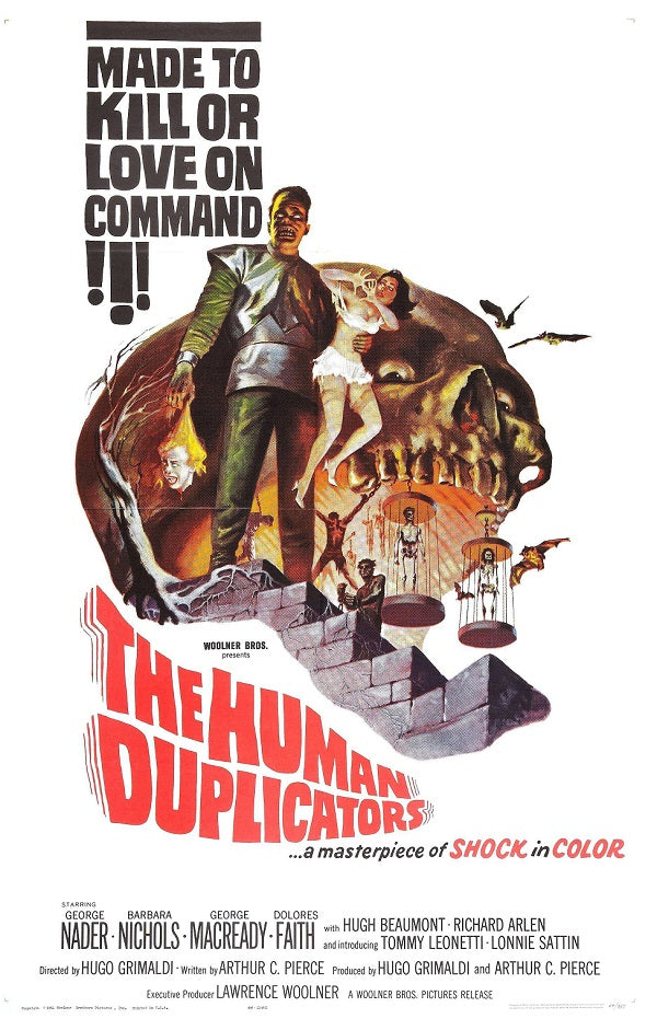 The Human Duplicators (1965) - George Nader