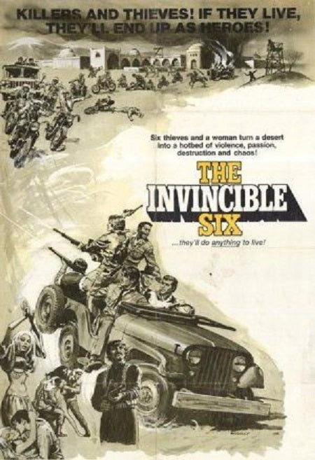 The Invincible Six (1970) - Stuart Whitman  DVD