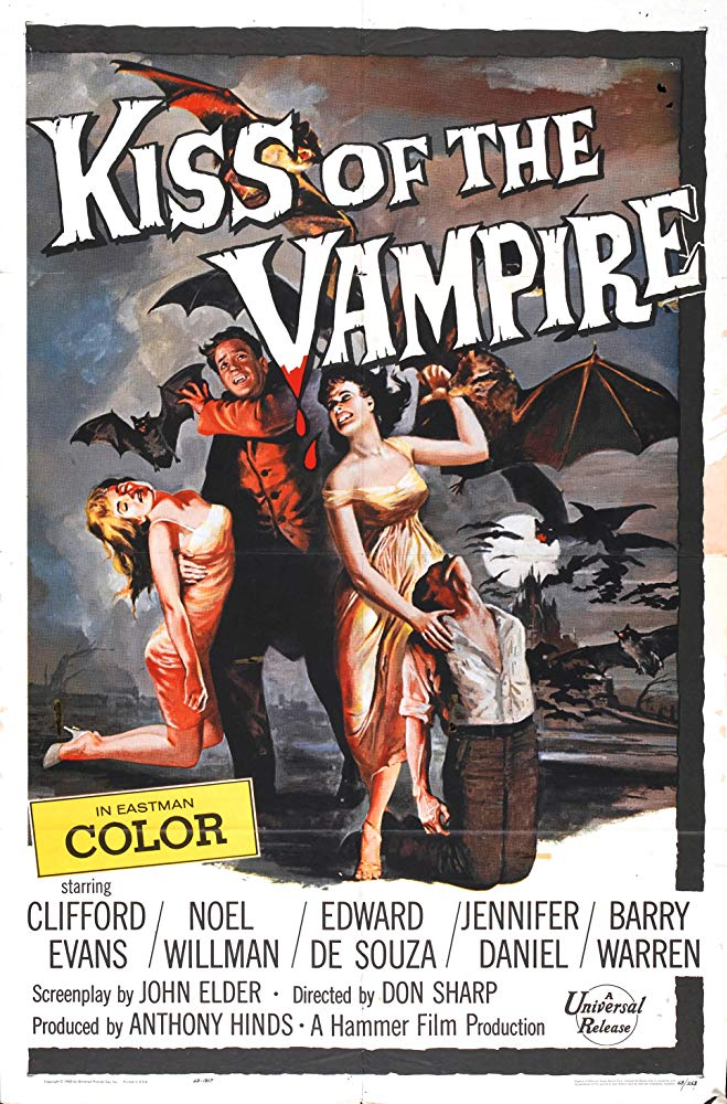 The Kiss Of The Vampire (1963) - Clifford Evans  DVD