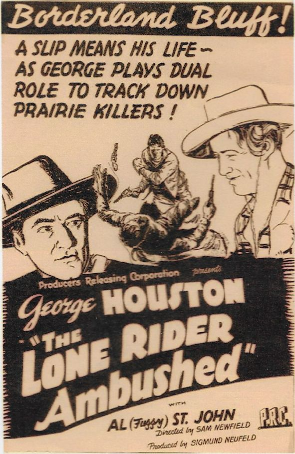 The Lone Rider Ambushed (1941) - George Houston  DVD