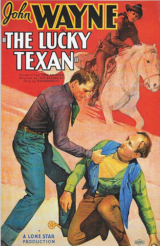 The Lucky Texan (1934) - John Wayne COLOR Version DVD