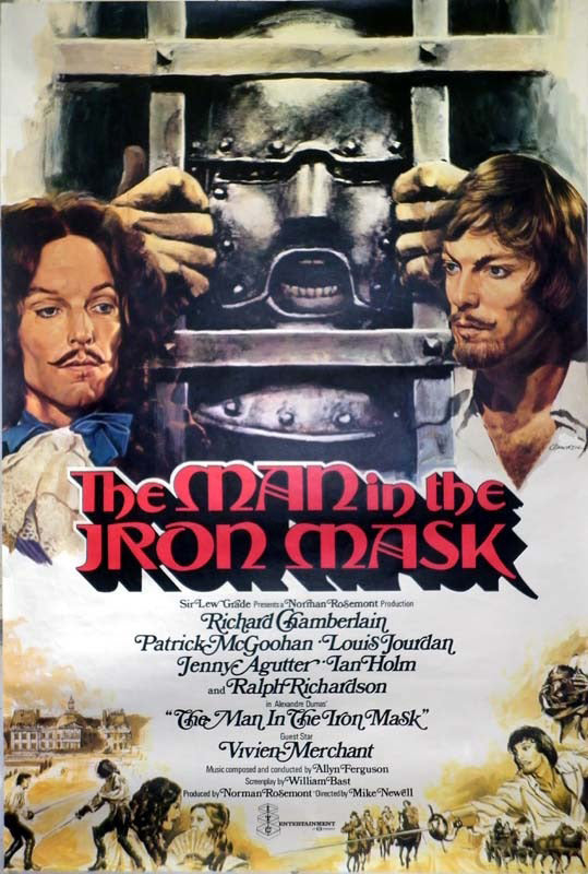 The Man In The Iron Mask (1977) - Richard Chamberlain DVD