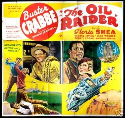 The Oil Raider (1934) - Buster Crabbe  DVD